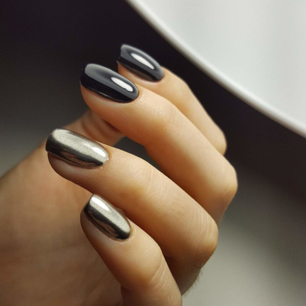 Руффиан на ногтях фото
