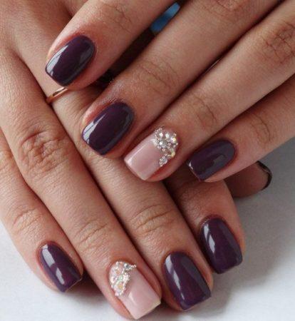Маникюр на коротких ногтях 25 фото