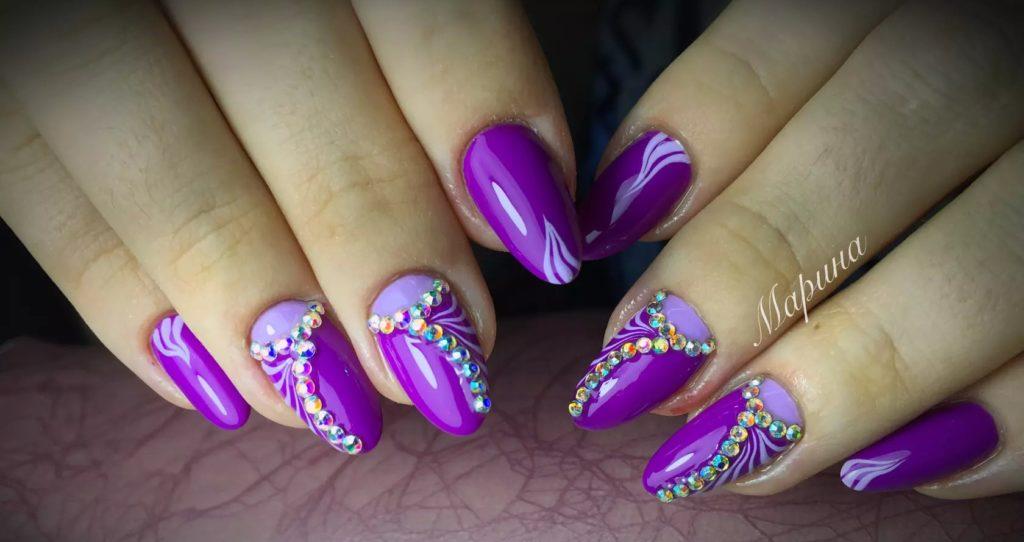 Ногтевой дизайн очень красивые