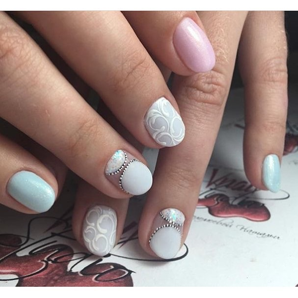 Лунки на ногтях дизайн фото