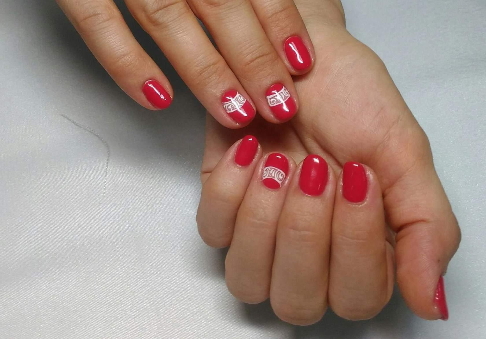 Гелевый маникюр короткие ногти фото
