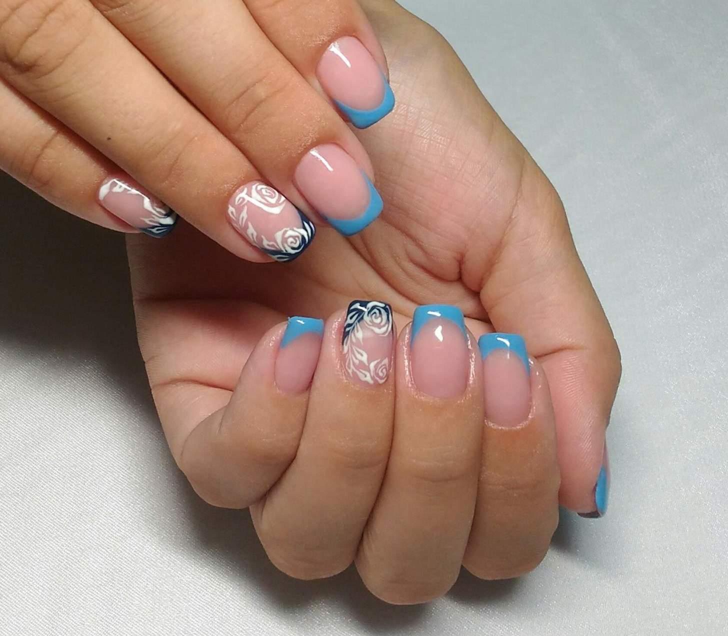 Ногти с вишенками 19