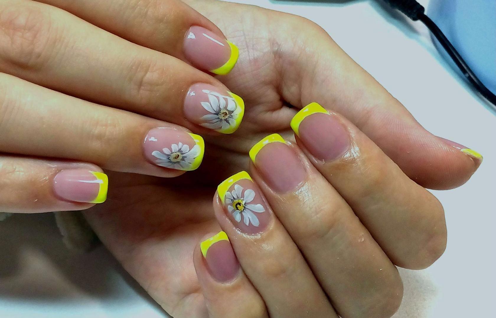Летний маникюр фото на свои ногти