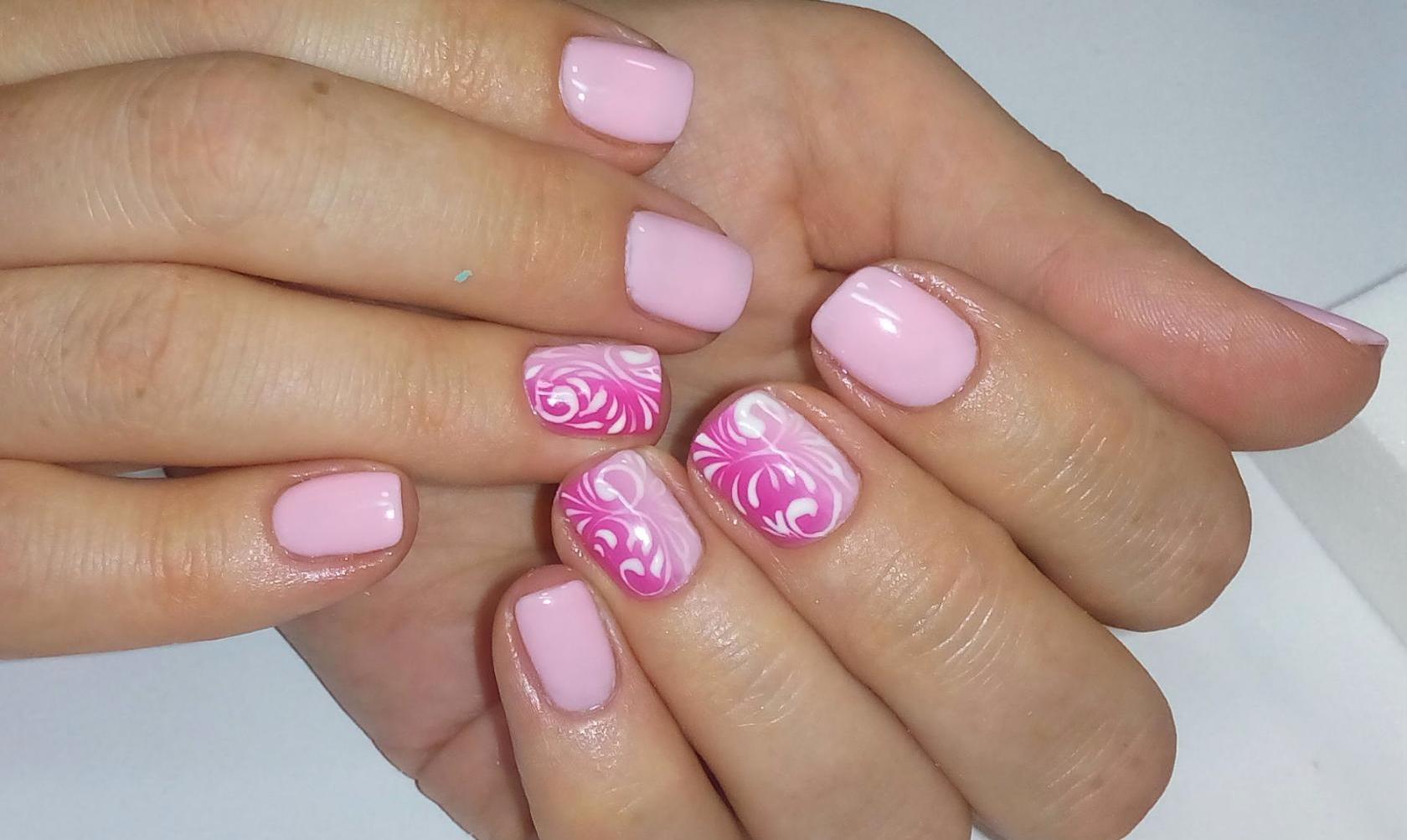 Маникюр с лепкой - фото идей дизайна ногтей - Best Маникюр
