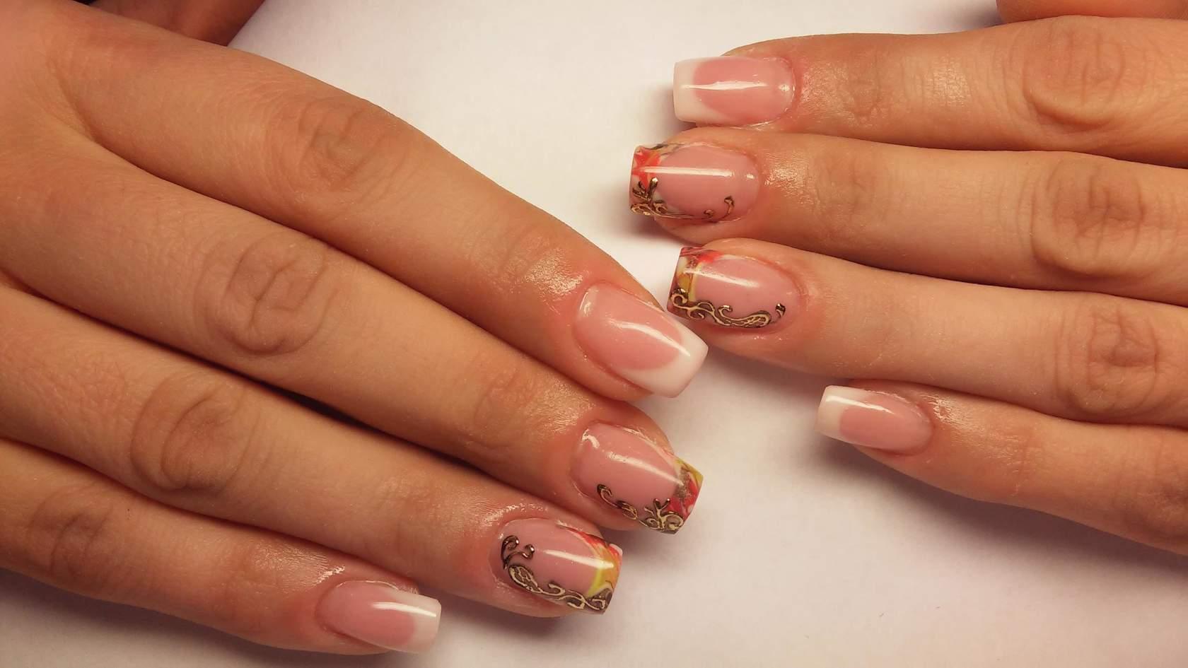 Варианты дизайна для коротких ногтей
