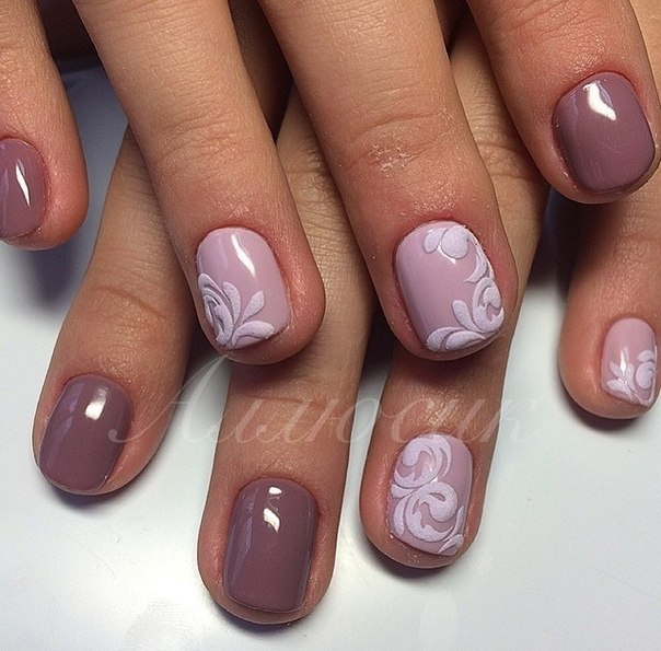 Маникюр весна 2016 на короткие ногти фото