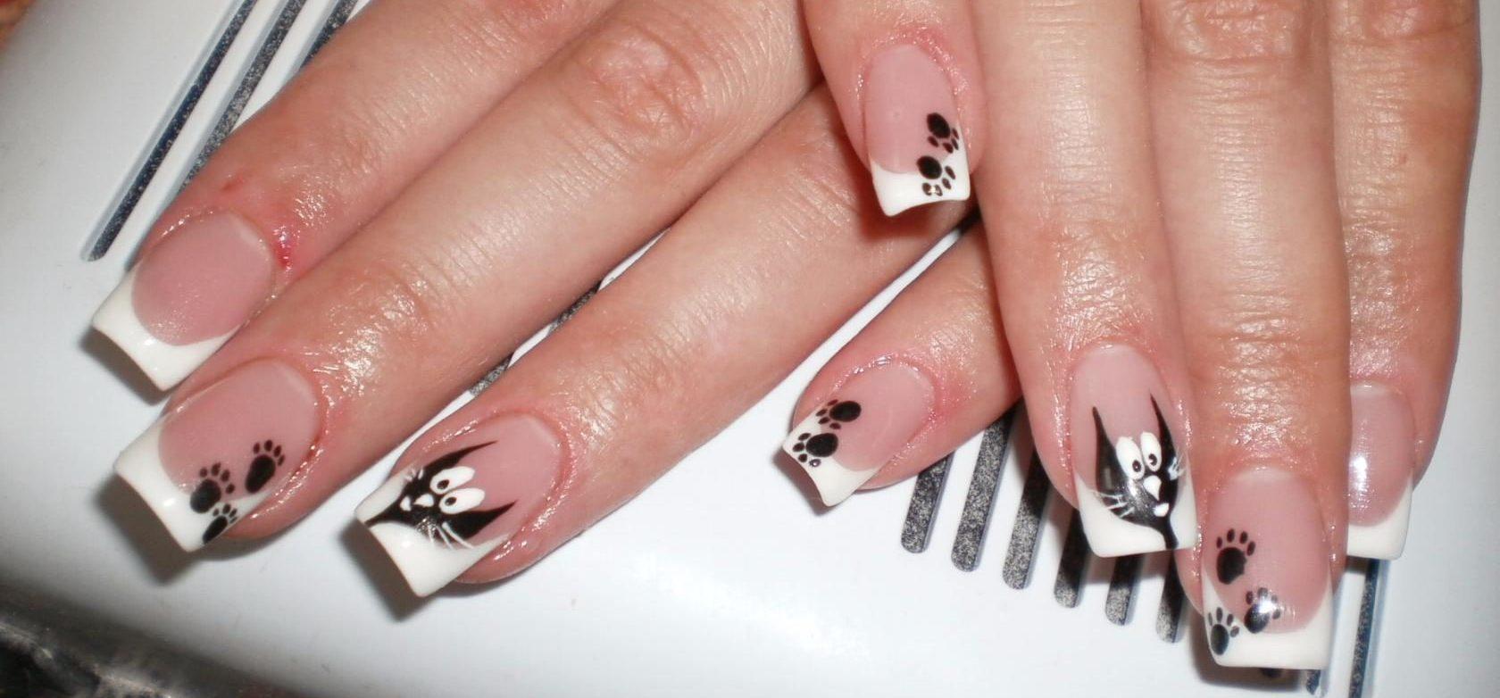 Красивые дизайн квадратных ногтей фото