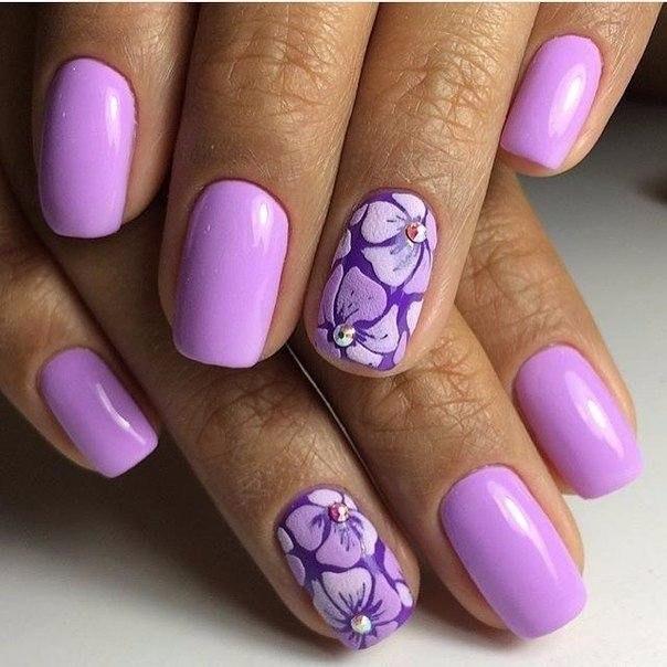 Дизайн ногтей под вечернее платье