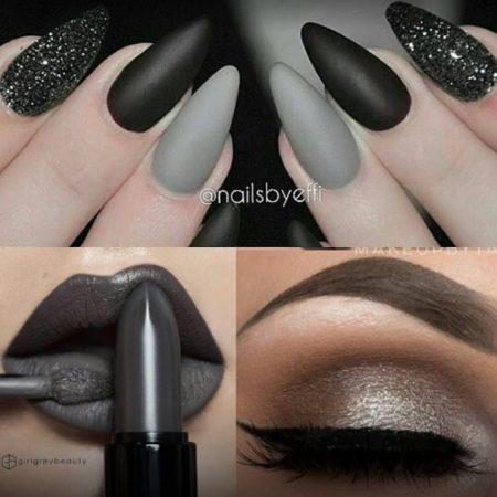 Очень красивый дизайн ногтей-163 фото
