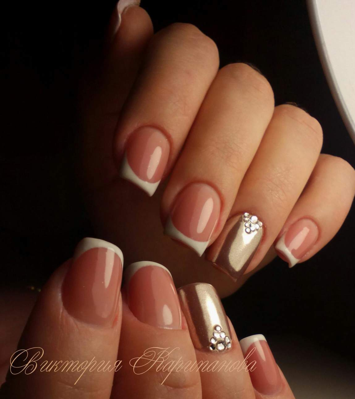 Фото ногтей квадрат с дизайном