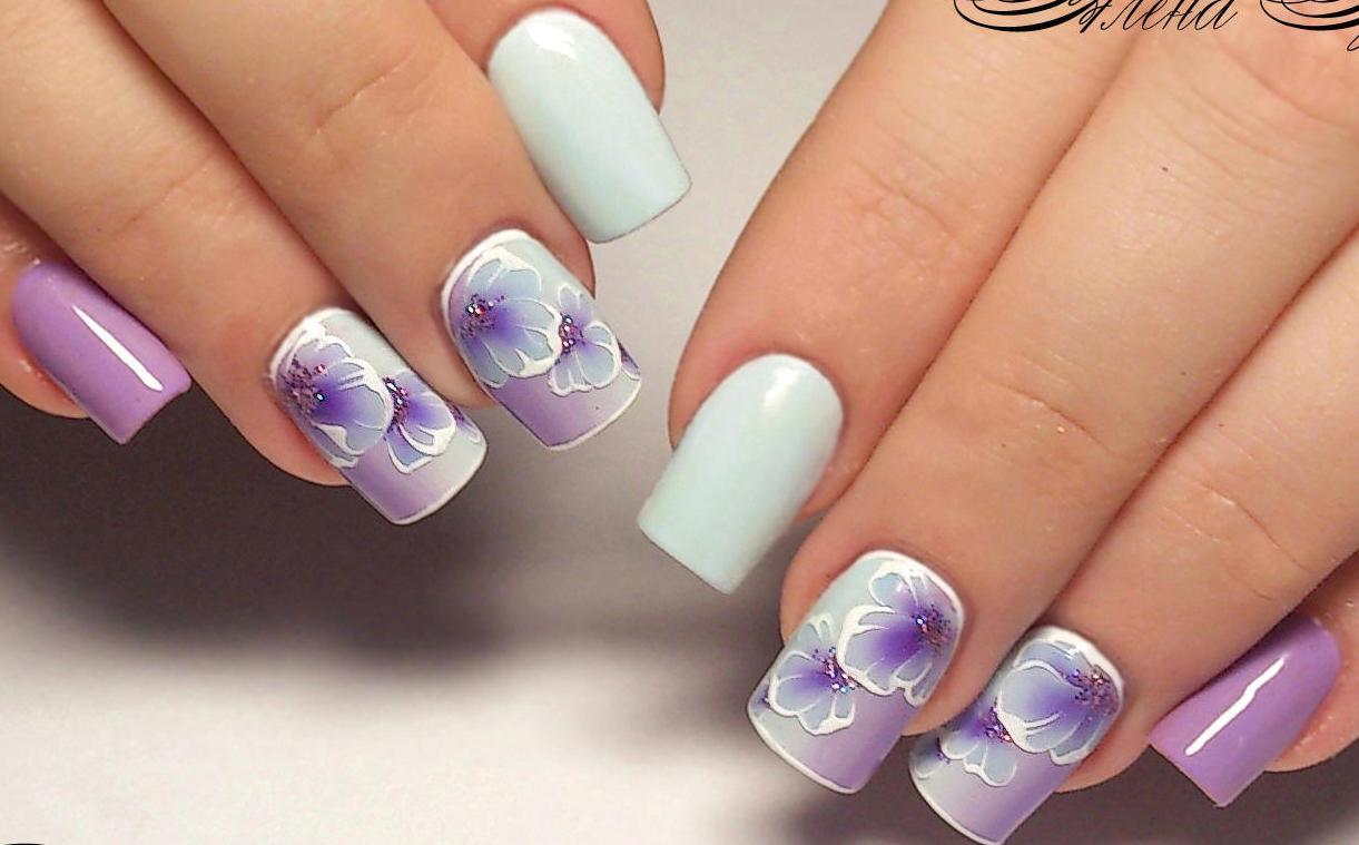 Короткие ногти — стильные идеи изоражения