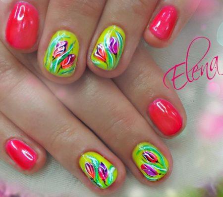 Дизайн ногтей весна – лето.