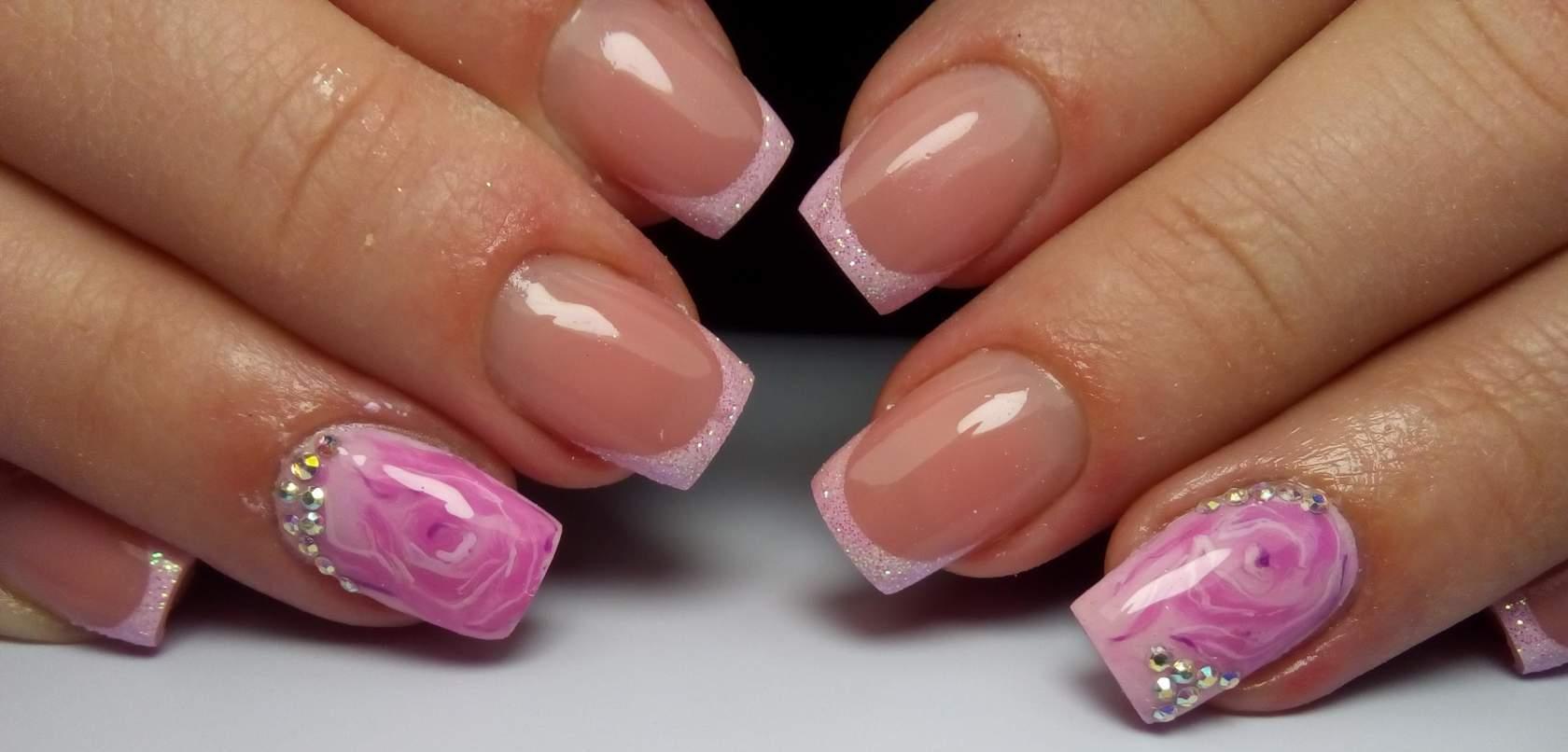 Идеи для квадратных ногтей фото