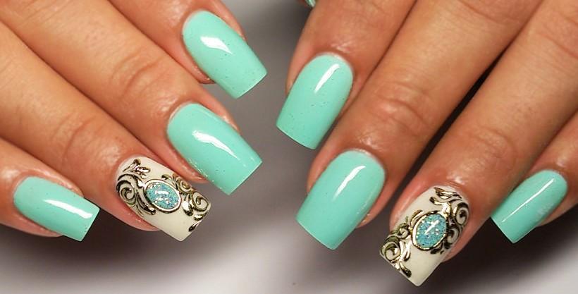 Идей дизайна ногтей лето