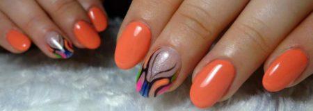 Гель - лак и дизайн ногтей весна - лето