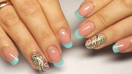 Модный дизайн ногтей весна - лето