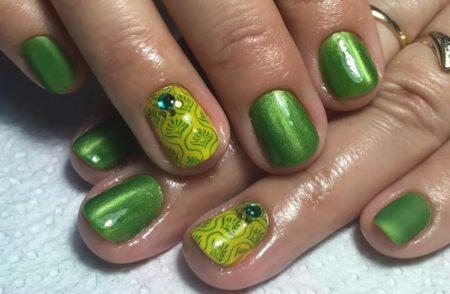Дизайн ногтей гель - лаком весна - лето