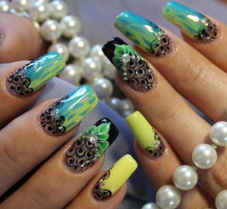 89 фото модного дизайна ногтей на весну – лето