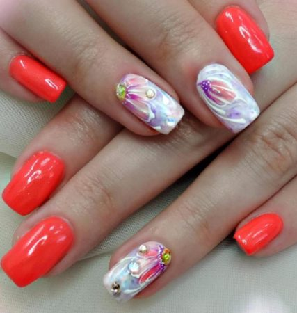 Дизайн ногтей весна - лето