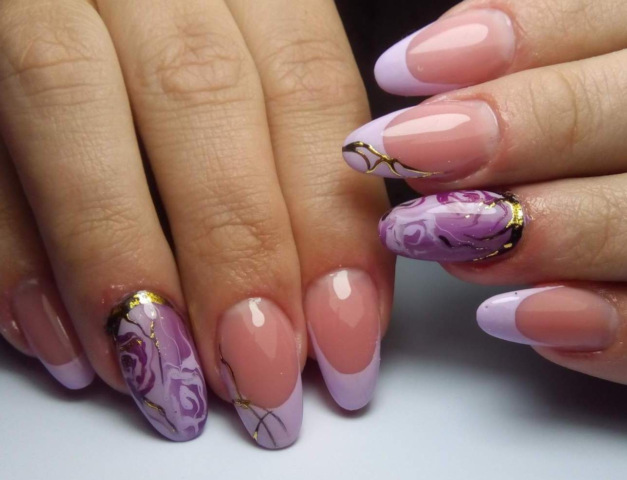 Фото ногтей с весенним дизайном