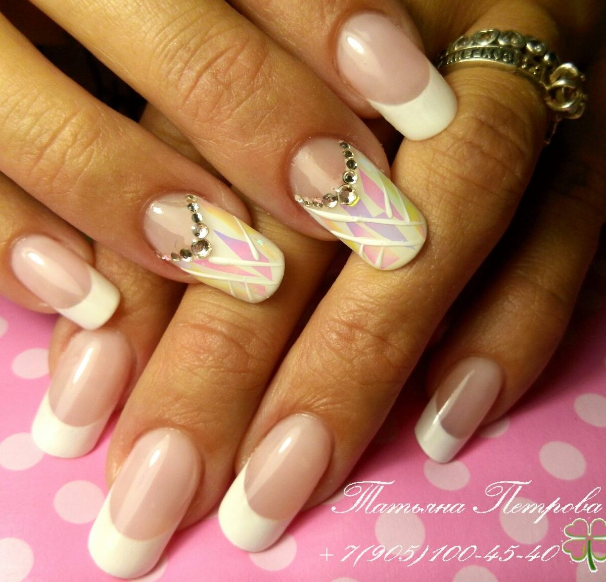 Классический дизайн ногтей фото новинки