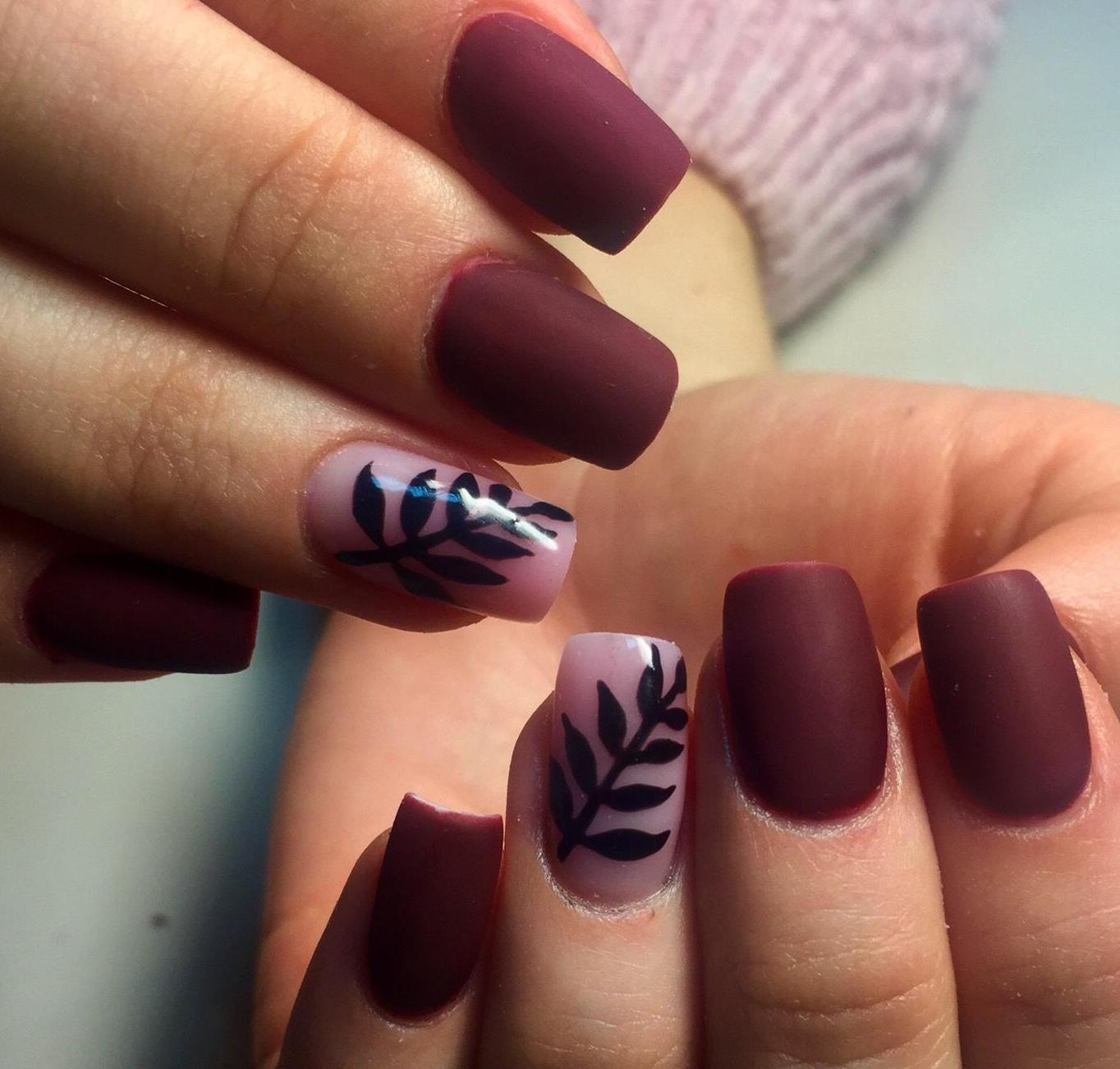 Черный дизайн ногтей 265 фото красивого дизайна ногтей
