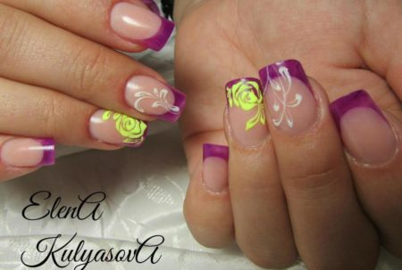 Модный дизайн ногтей