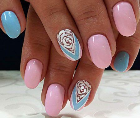 Дизайн коротких ногтей фото