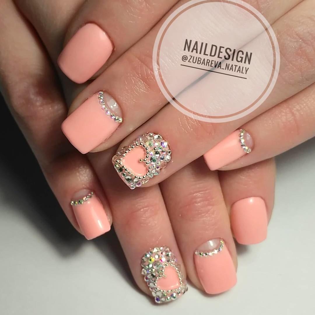 Дизайн коротких ногтей весна 2017 новинки