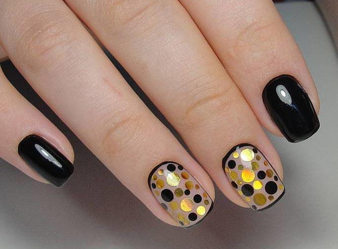 фото дизайн на коротких ногтях