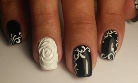 Дизайн ногтей фото маникюра с рисунком