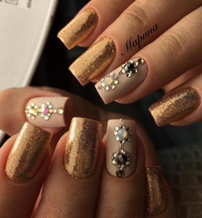 Дизайн красивых ногтей – 53 фото модного маникюра.