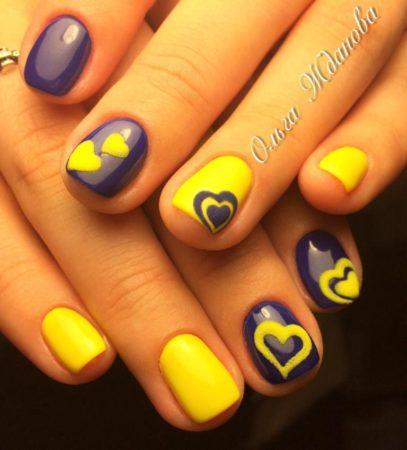 Модный дизайн ногтей фото молодежного маникюра