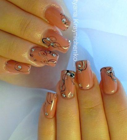 Дизайн ногтей фото модного маникюра