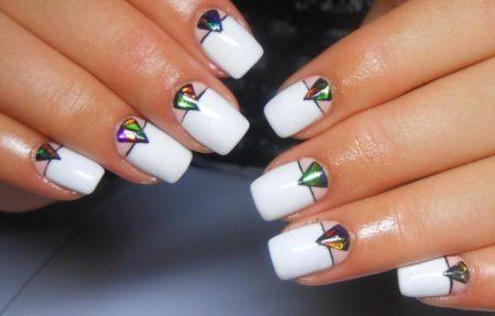 Дизайн ногтей на выпускной — 60 фото
