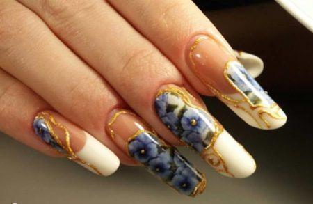Дизайн ногтей фото идеи — весенние идеи модного маникюра.