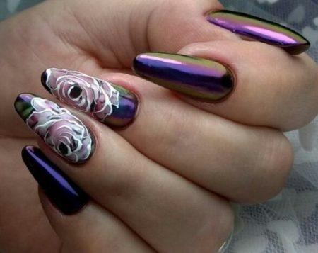 Дизайн ногтей нейл-арта фото