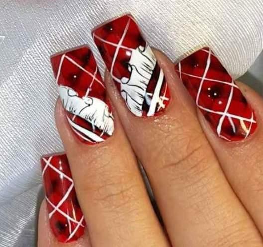 Красивые ногти с росписью фото