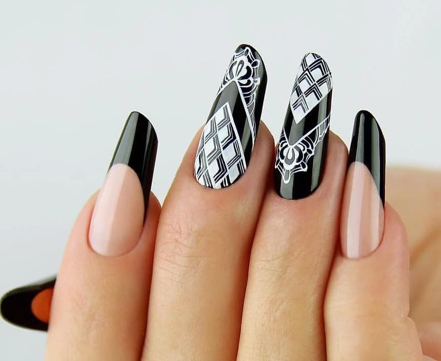 Фото летнего маникюра на коротких ногтях гель лак