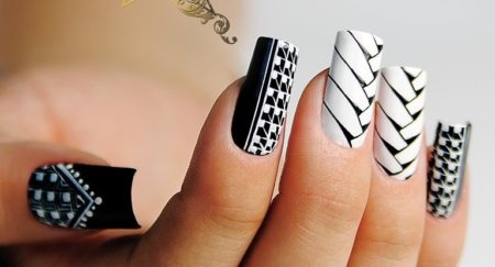 Маникюр — фото модного дизайна ногтей гель лаком