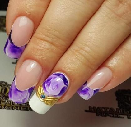 Ногти фото – дизайн ногтей — маникюр с цветами