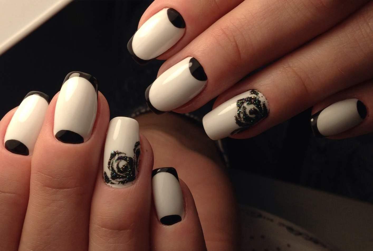 Дизайн модных ногтей в фото
