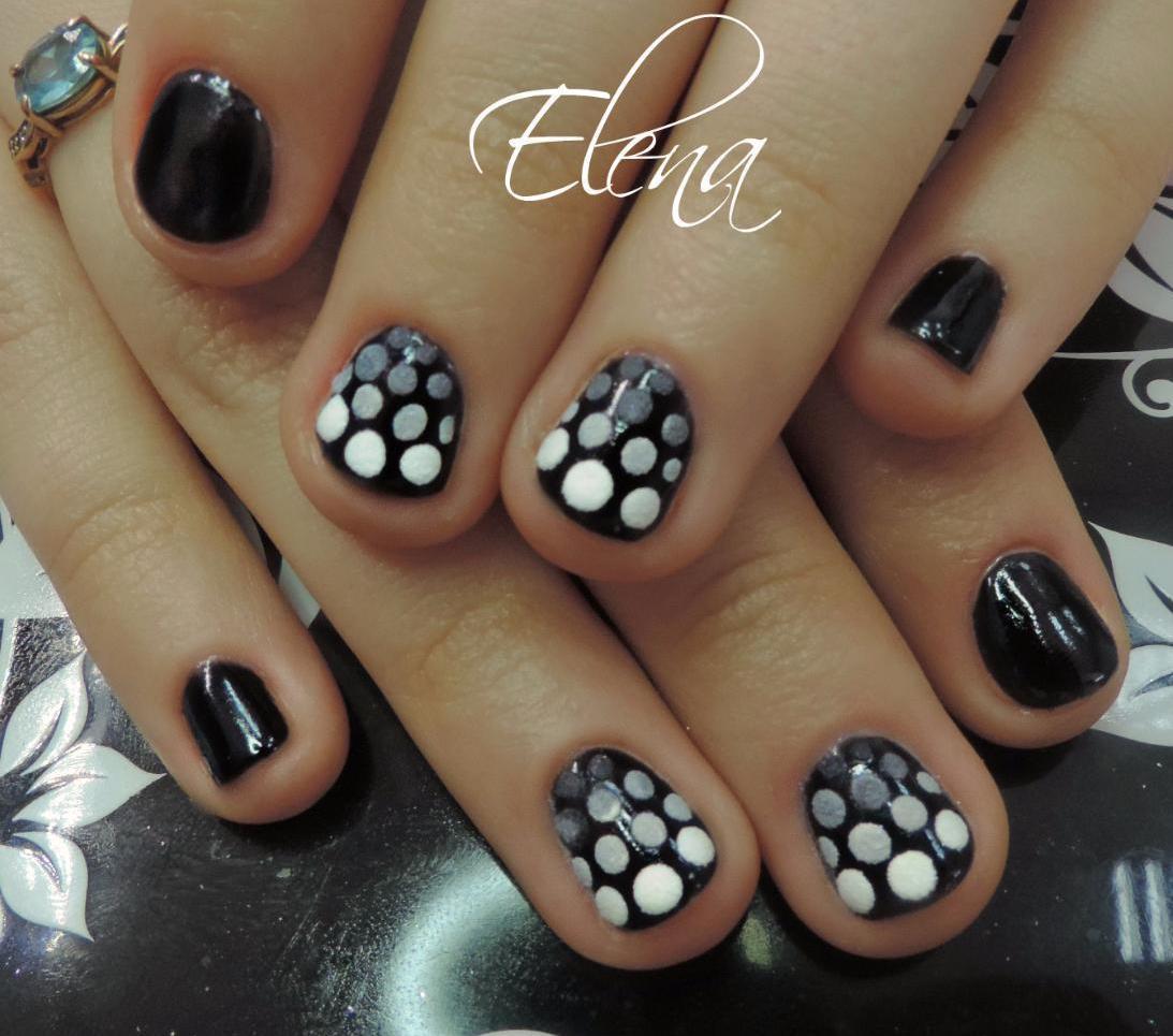 Фото ногтей с тигровым дизайном