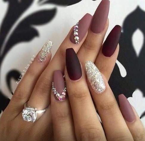 маникюр 2017 на длинные квадратные ногти
