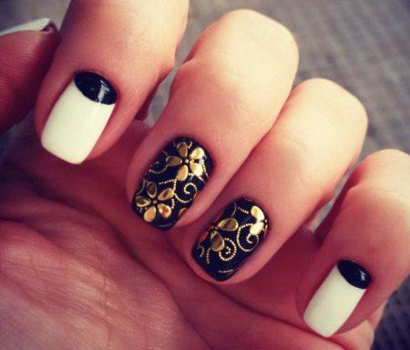 Дизайн ногтей с эффектом