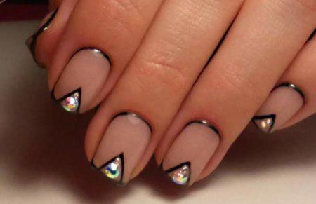 Дизайн ногтей с эффектом – фото — дизайн маникюра гель-лаком.
