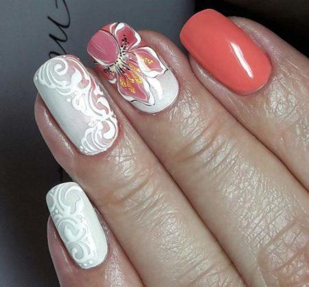 Ногти фото маникюра с дизайном