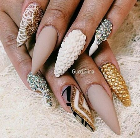 Дизайн ногтей стильного маникюра фото идеи.