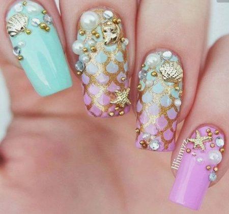 Актуальный дизайн ногтей этого сезона
