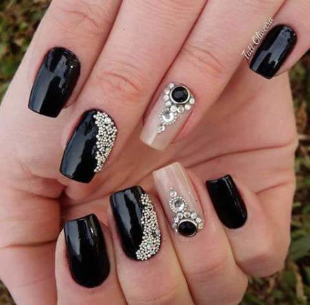 Популярные идеи дизайна ногтей этого сезона – 122 фото маникюра